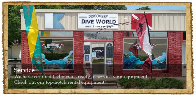 Scuba Gear Service and Repair