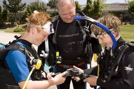BSA scuba merit badge training
