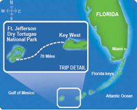 dry tortugas map